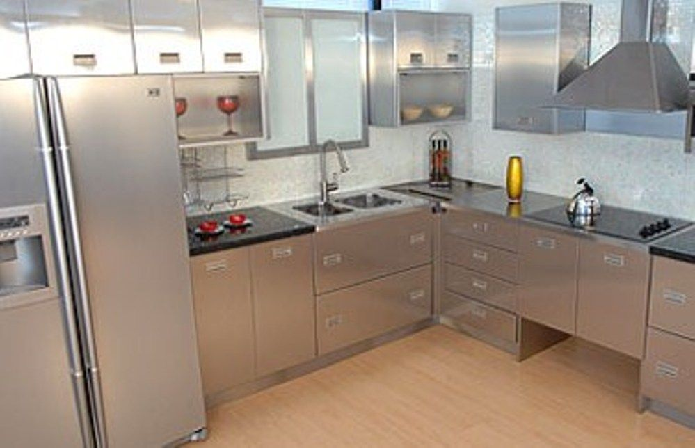 30 Metal Kitchen Cabinets Ideas Style Photos Remodel And Decor Best Design Of Kitchen Cabinets Pictures Review