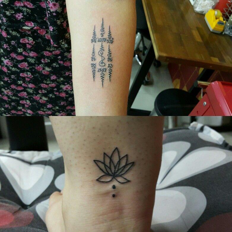 Henna Tattoo In Bangkok: #bangkokinktattoo #machine #tattoo #Thailand #Bangkok