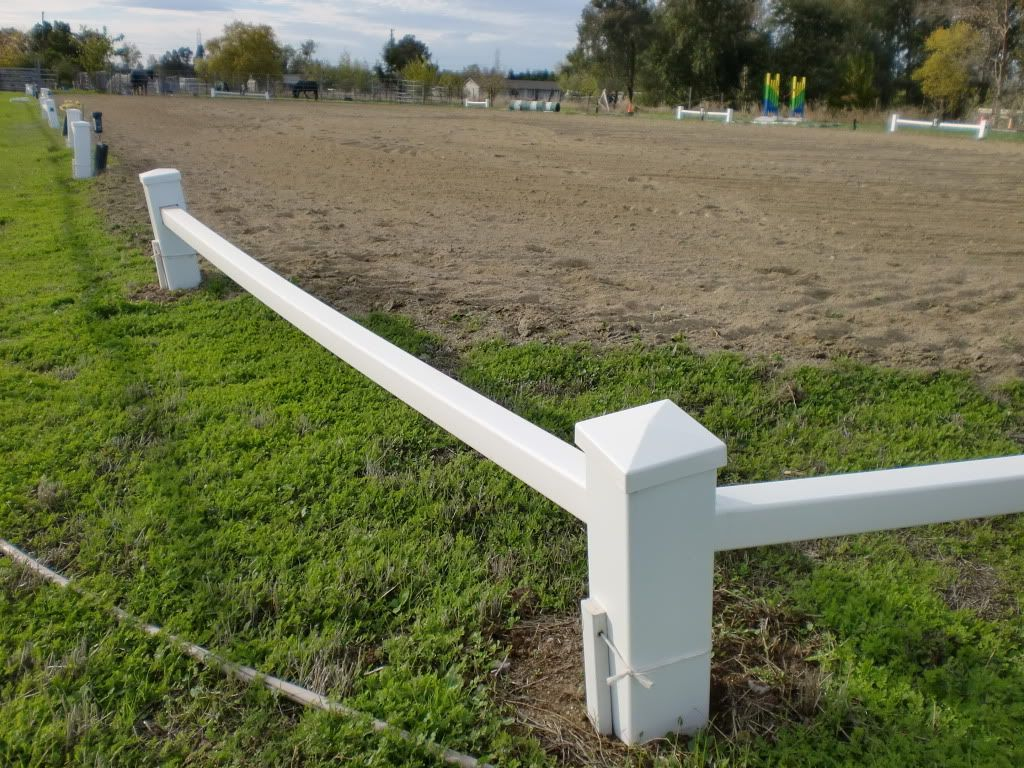 Plastic Dressage Arena Border You Can Make Your Own
