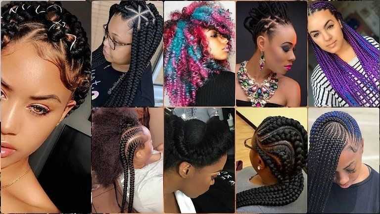 Want Ideas And Pictures Of Latest Hairstyles In Nigeria 2019 Here Are 55 Nigerian Hair Style Braids Hair Styles Latest Hairstyles In Nigeria Womens Hairstyles