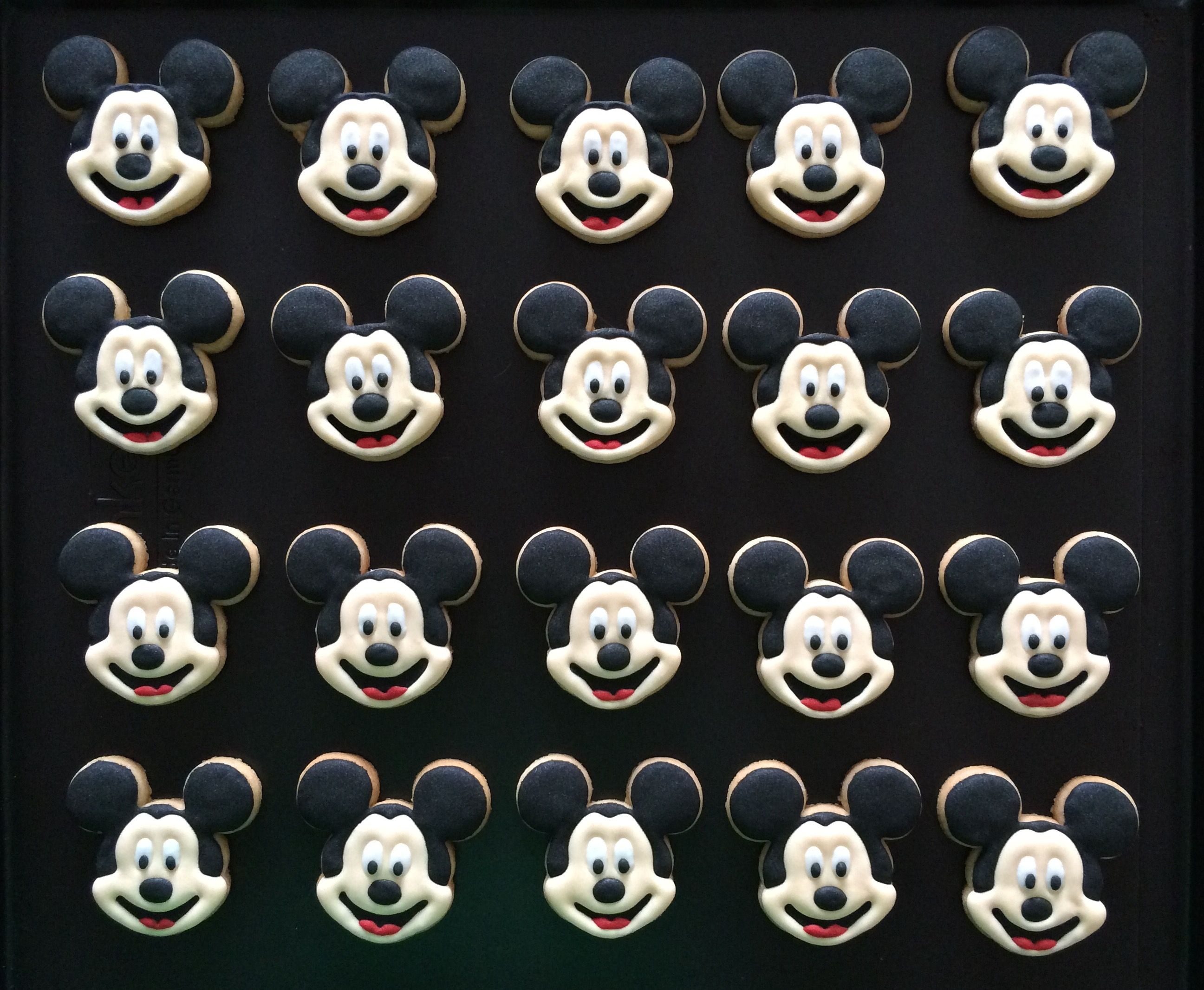 Mickey Mouse Koekjes / Mickey Mouse Cookies