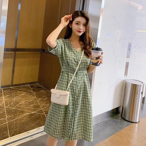 ワンピース レディース ワンピ チュニック ドレス vネック 商品動画あり チェック ウエストマーク 特売チャンネル ワンピース レディース 韓国 ワンピース 夏 ファッション