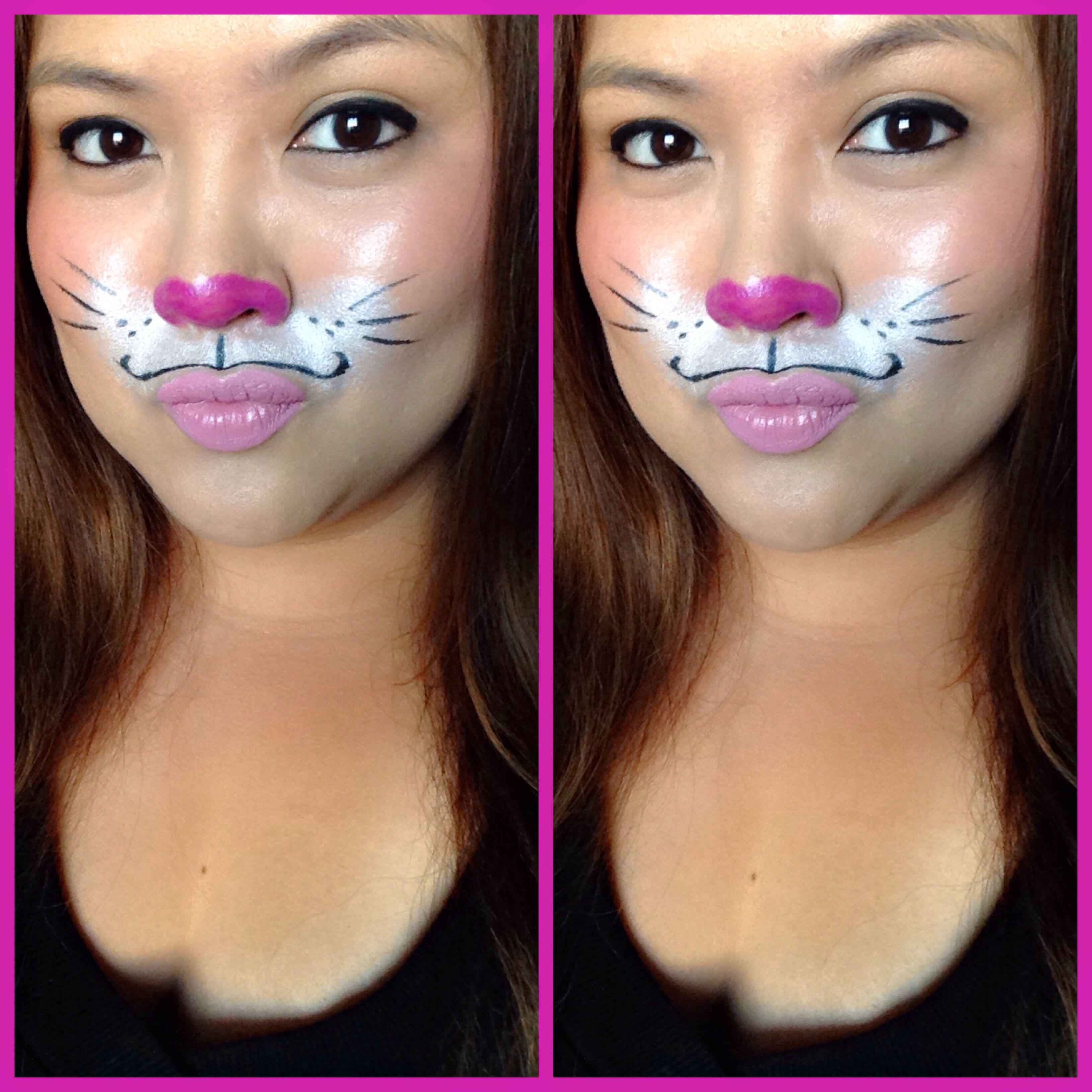 Worksheet. maquillaje para disfraz de 3conejita de pascua guapa al instante