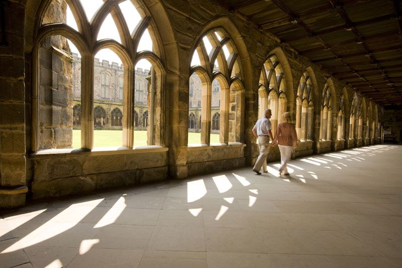 Durham Cathedral - Durham's elegant cloisters became the ...