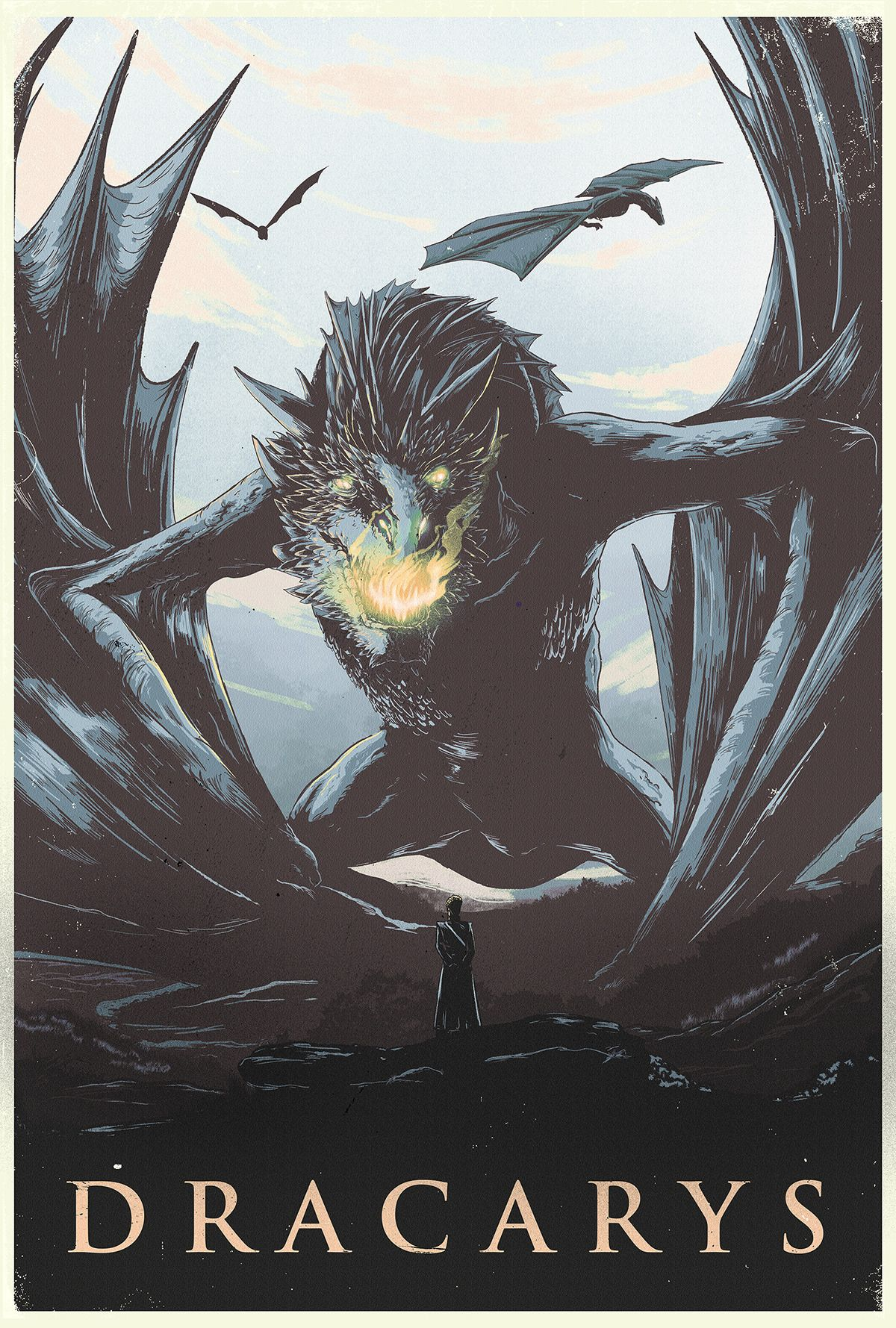 Game Of Thrones Dracarys Created By Nicolas Alejandro Barbera