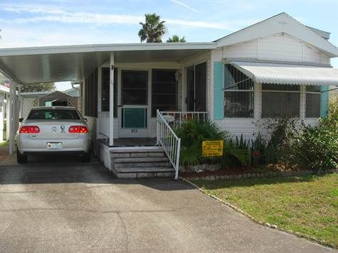Home For Sale in GLENHAVEN RV PARK Zephyrhills, Florida  For
