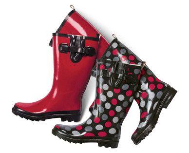 b2b6f3a8708 ALDI US - Serra Ladies' Rain Boots | Fashion | Rain boots, Boots ...