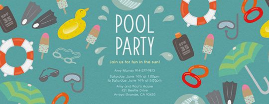 Best Summer Party Planning Tips 2500 Ultimate Party Giveaway – Pool Party Invite