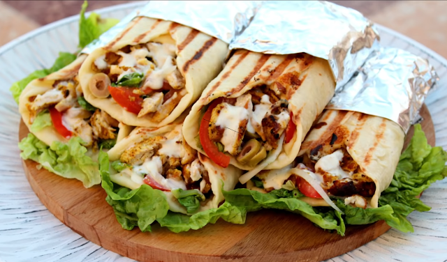 Chicken Shawarma Chicken Shawarma Is A Unique Dish From Arabic Cuisine Which Is Favorited Not Only In The Middl Chicken Shawarma Shawarma How To Make Sandwich