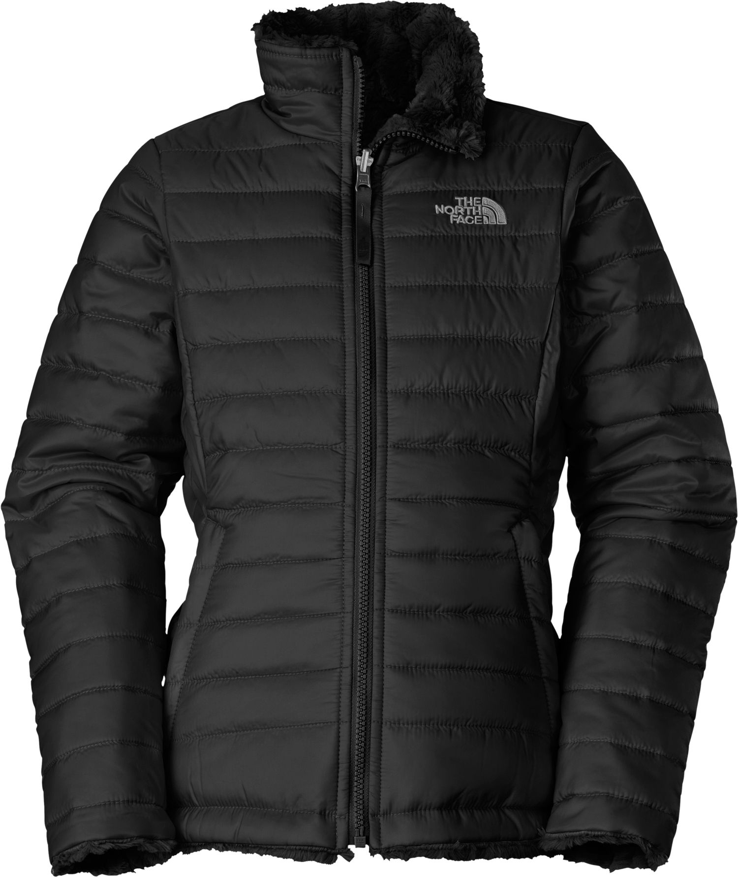 bb9be68ba The North Face Girls' Reversible Mossbud Swirl Insulated Jacket ...
