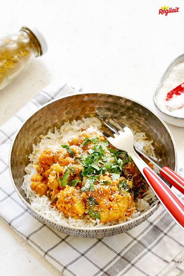 Curry végétarien au chou-fleur | Recette en 2019 | Curry ...