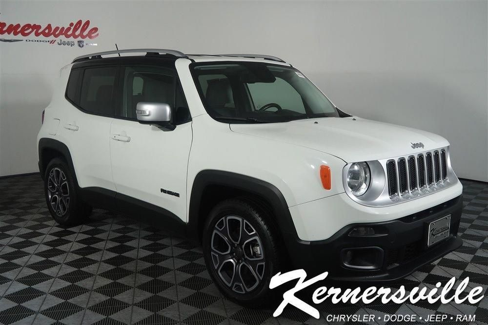 Ebay Jeep Renegade Limited 47275 Miles Used 2016 Jeep Renegade