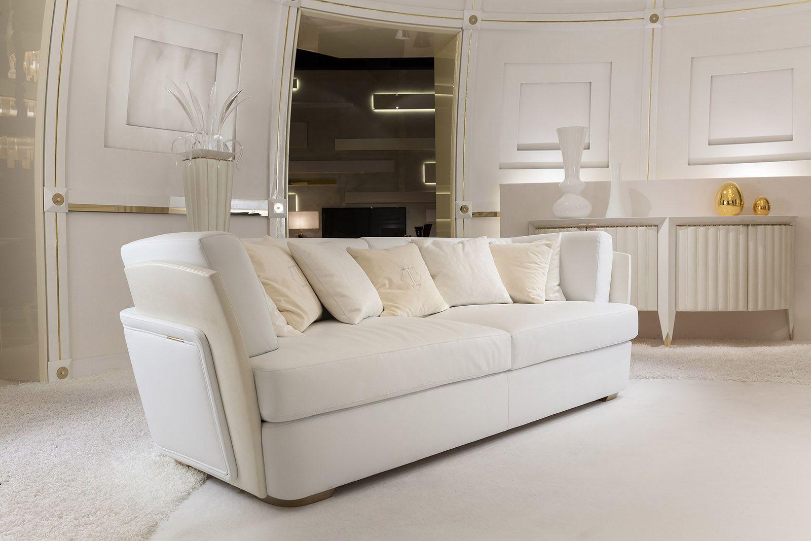 Lusso Mobili ~ Blanche collection www.turri.it italian luxury sofa the art of