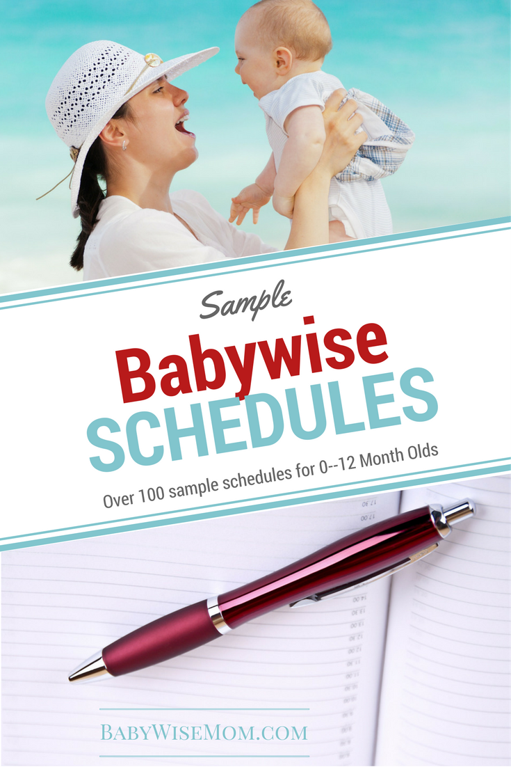 Reader Sample Schedules  Months   Months Babies And Baby Care