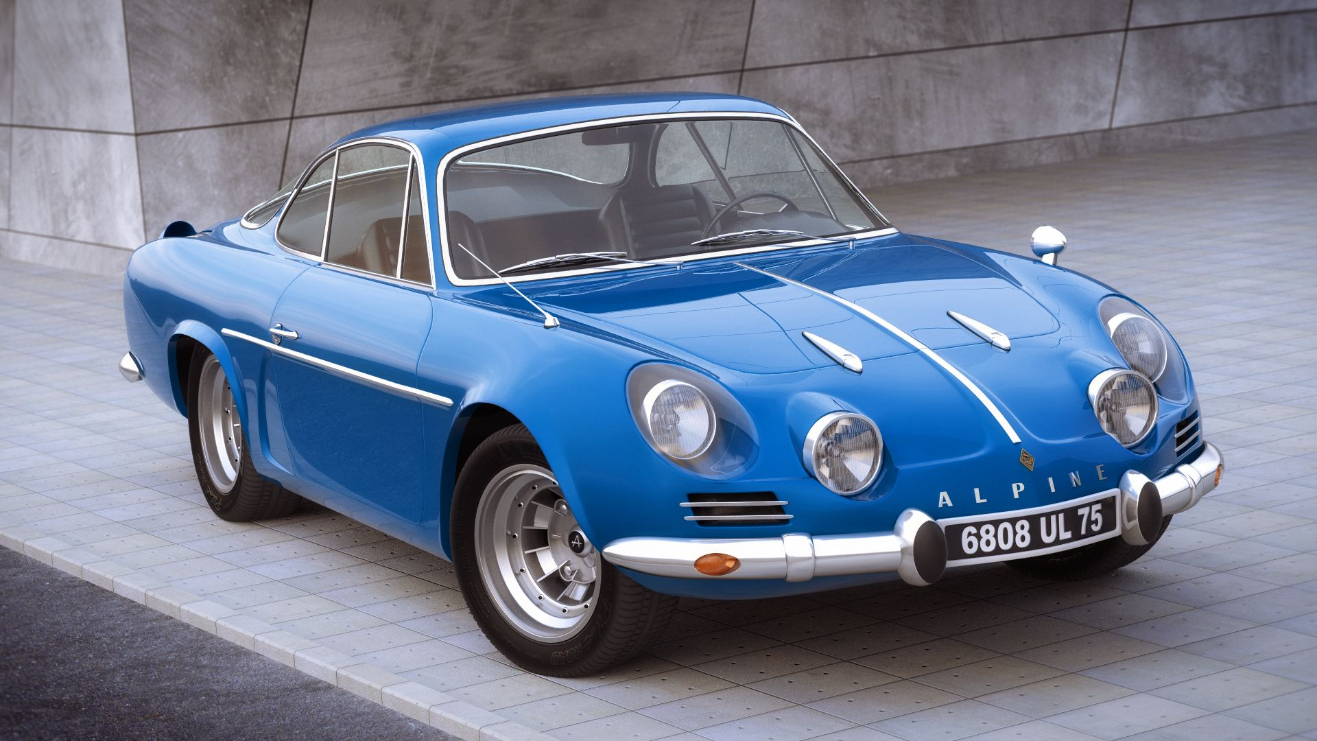 Renault Alpine A110 1970 by jerry001 on DeviantArt | Cars ...