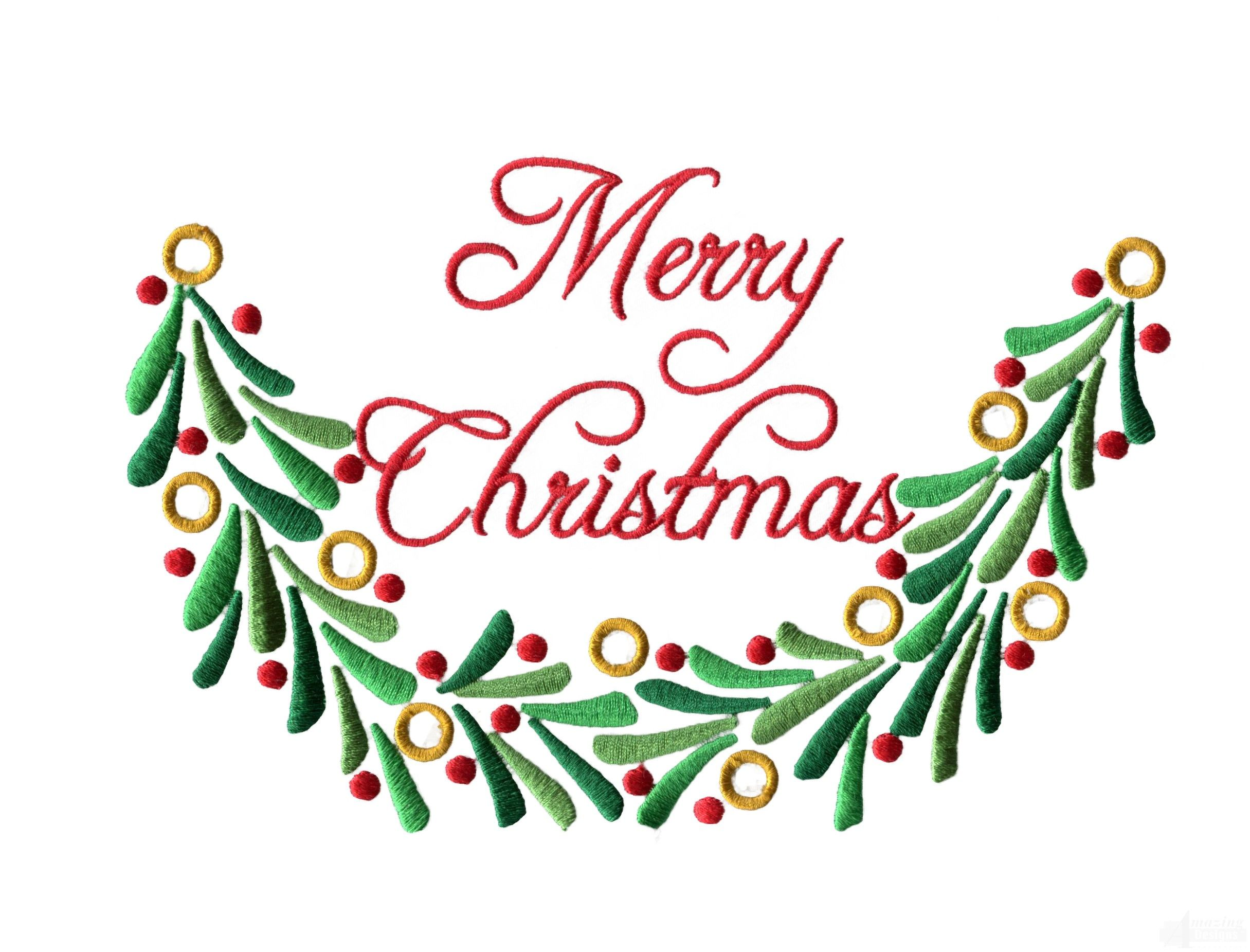 Christmas Machine Embroidery Designs | Merry Christmas Embroidery ...