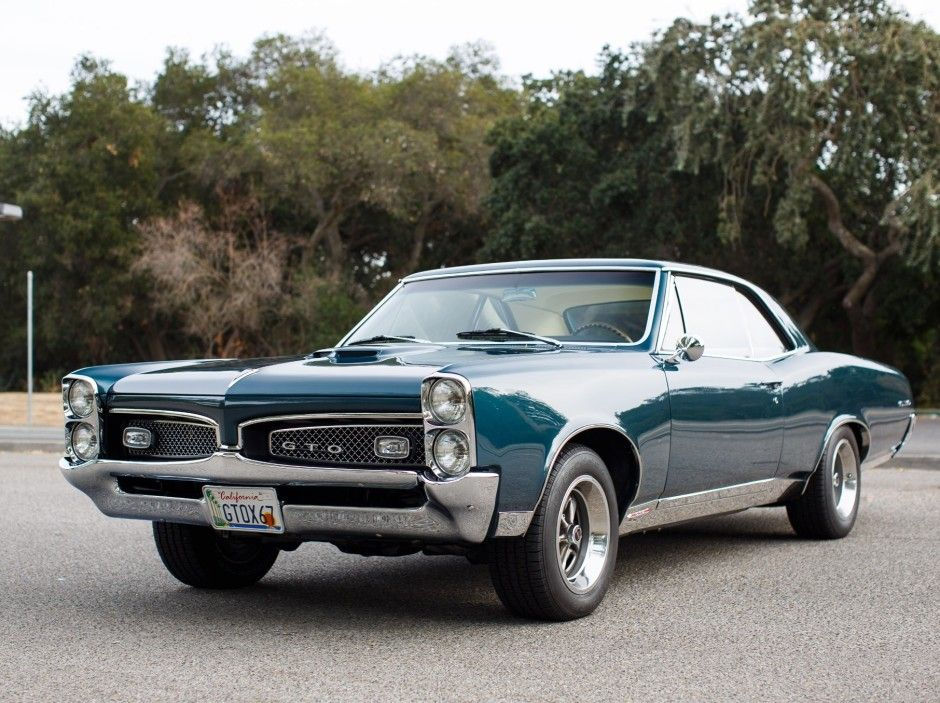 This 1967 Pontiac GTO hardtop is a 3-owner example that received a ...