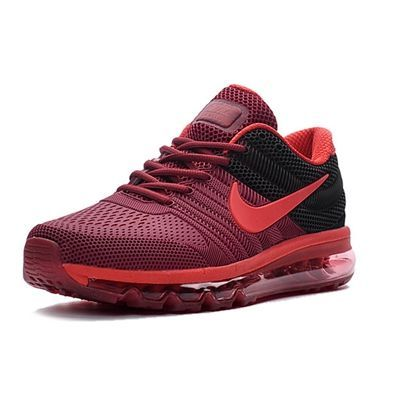 Nike Air Max 2017 Men Red Black Running Shoes  Buy your favorite Cheap Nike  Air Max onlineOnline shopping Nike Air Max 2017 Men Red Black Running Shoes