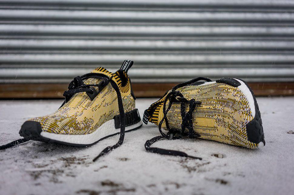 "9c6e19b59c067 adidas NMD Runner Primeknit ""Yellow Digi Camo"" (Detailed Pics) - EU Kicks:  Sneaker Magazine"
