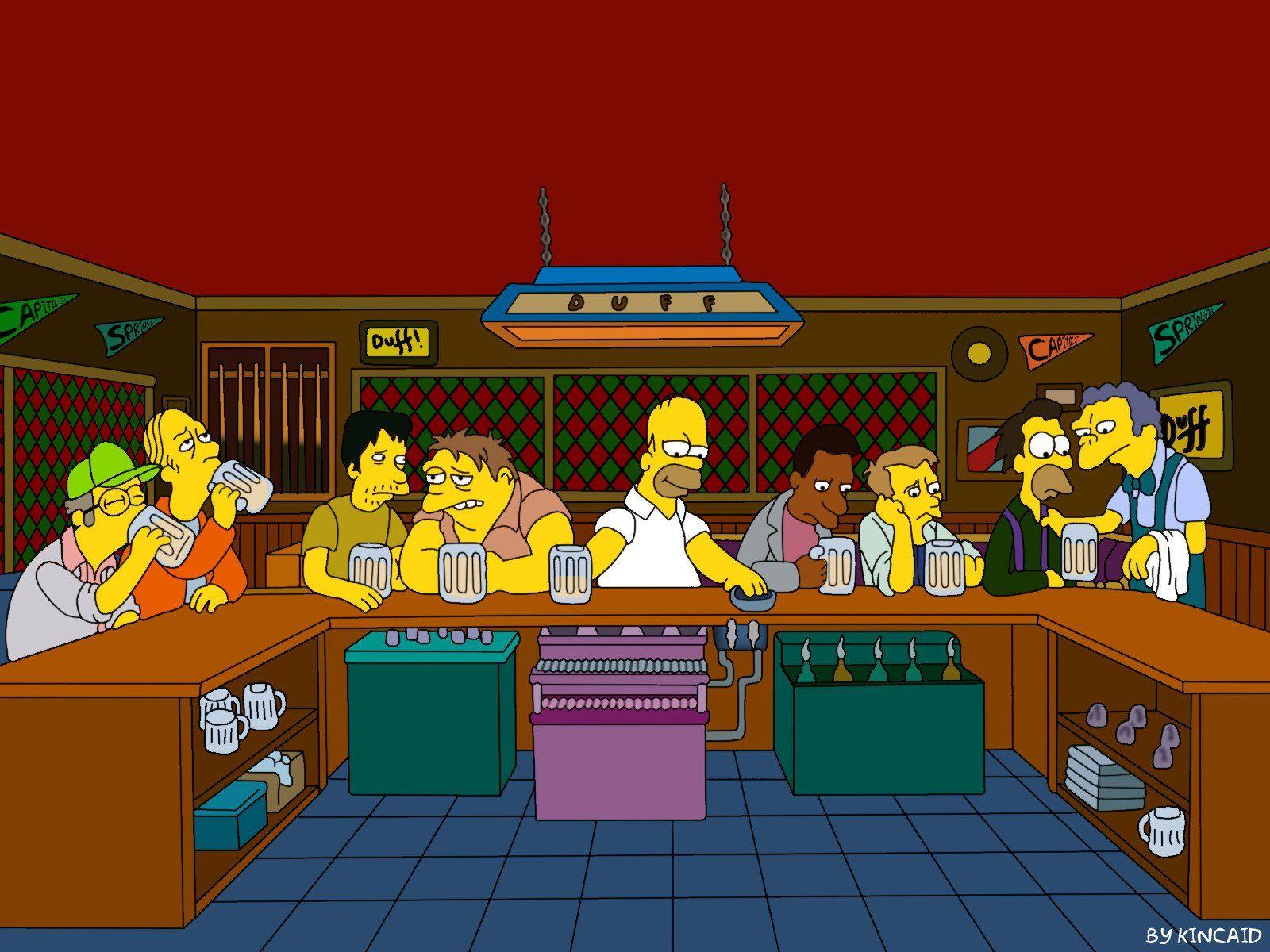 Poster The Simpsons Arte Simpsons Os Simpsons Wallpaper De