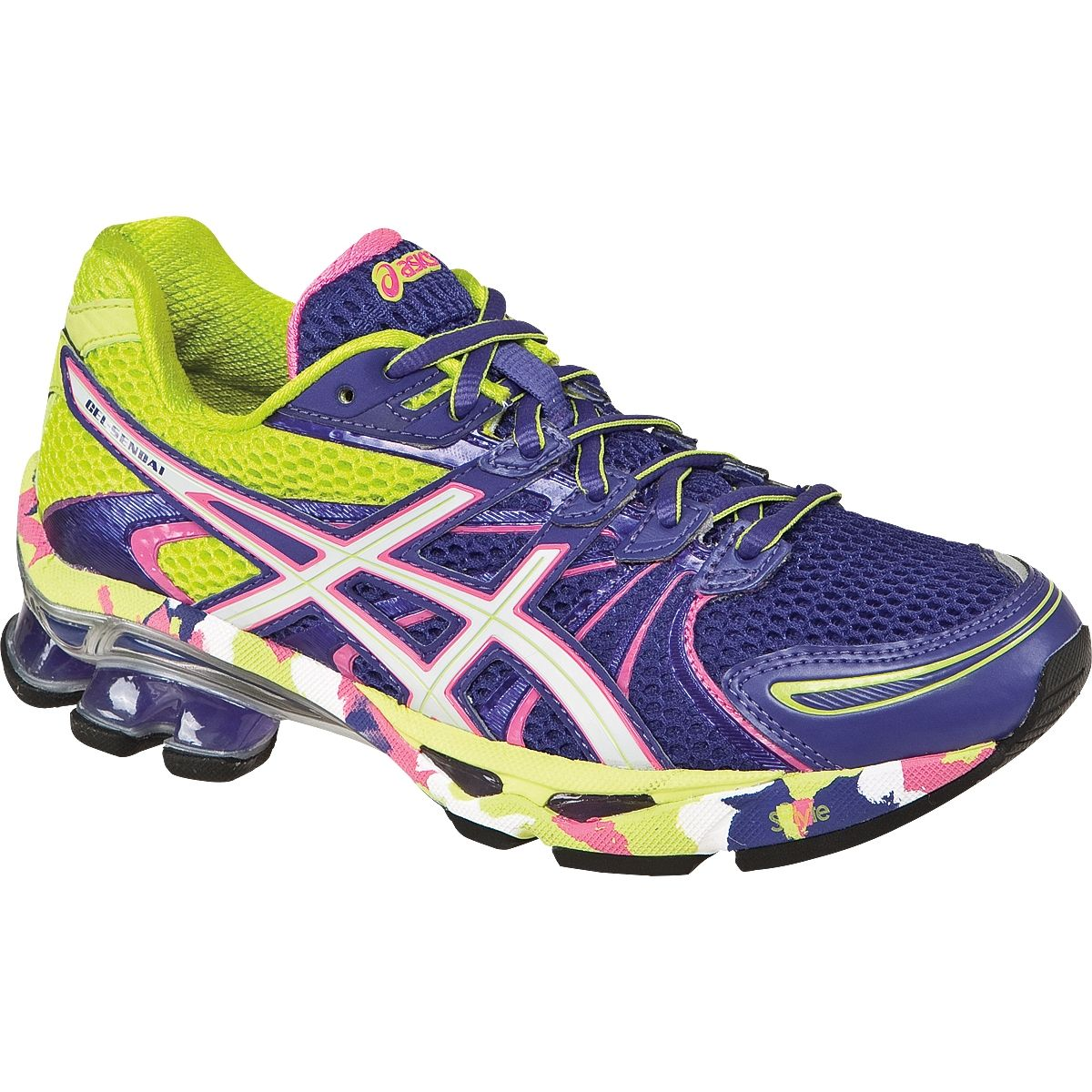 ASICS Women's Gel-Sendai Running M US, Take time to expand your workouts in  the ASICS GEL-SendaiTM trainer. Award-winning rearfoot and forefoot GEL ...