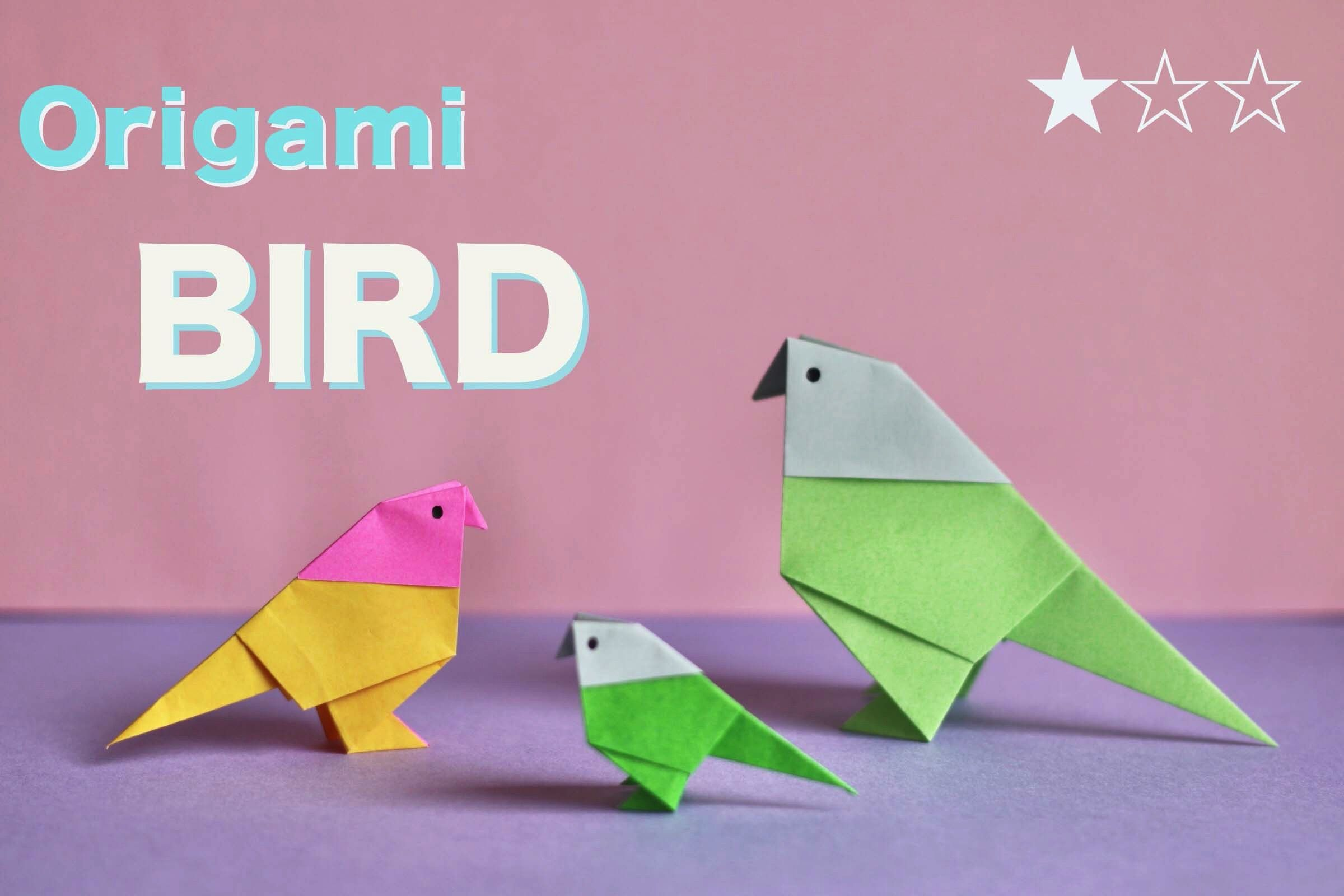 Photo of Origami birds.origami passaro