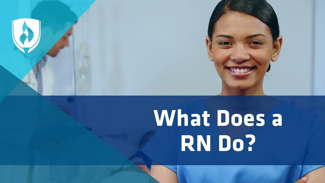 what type of work is done as a registered nurse