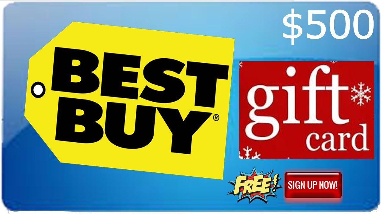 Free bestbuy gift code generator win 500 best buy code
