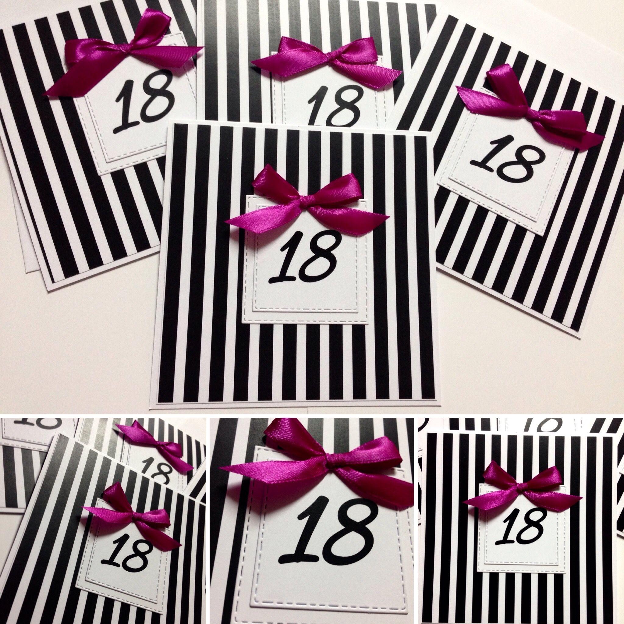Zaproszenia 18 Urodziny Zaproszenia Pinterest