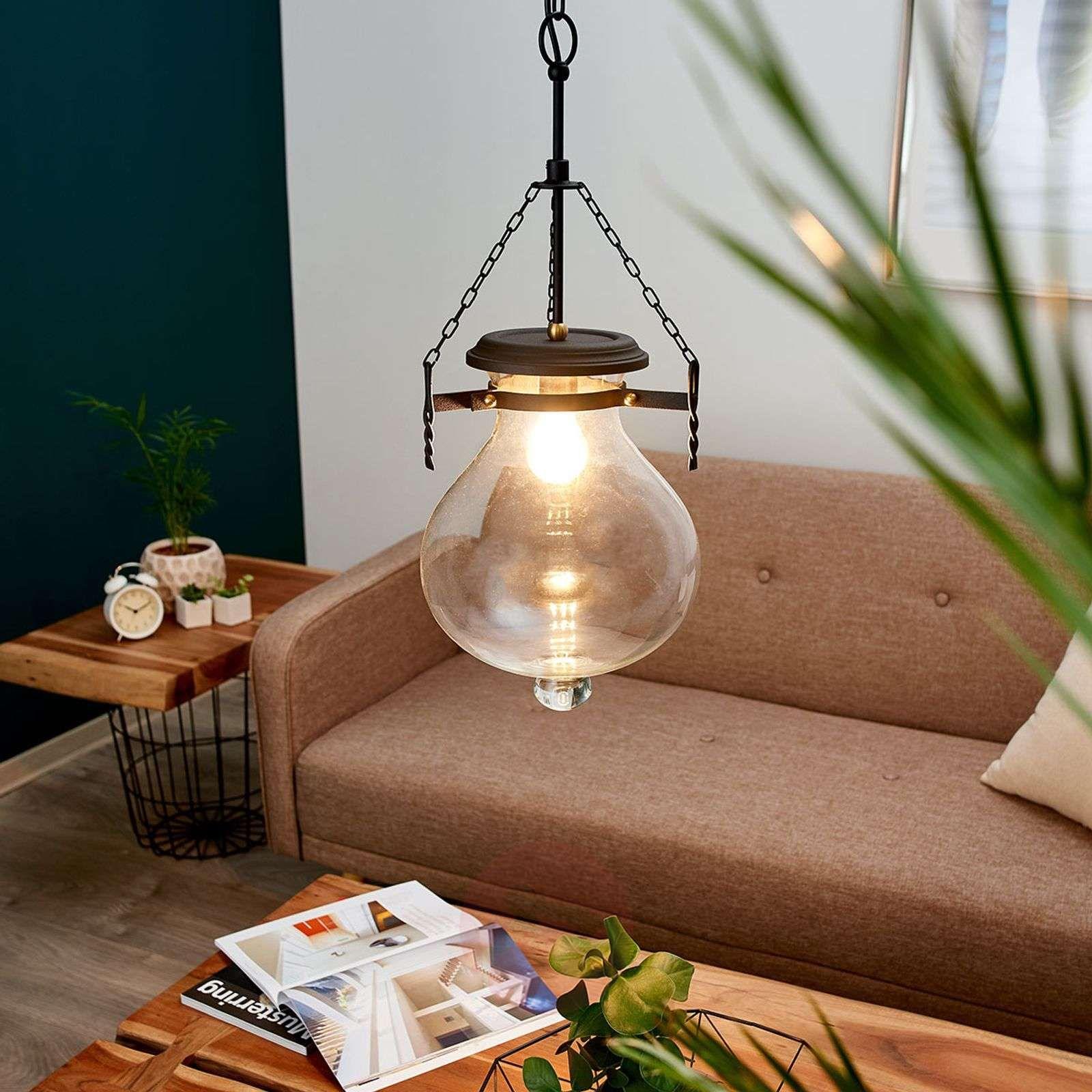 małe lampy wiszące   lampy wiszące z abażurem   oświetlenie