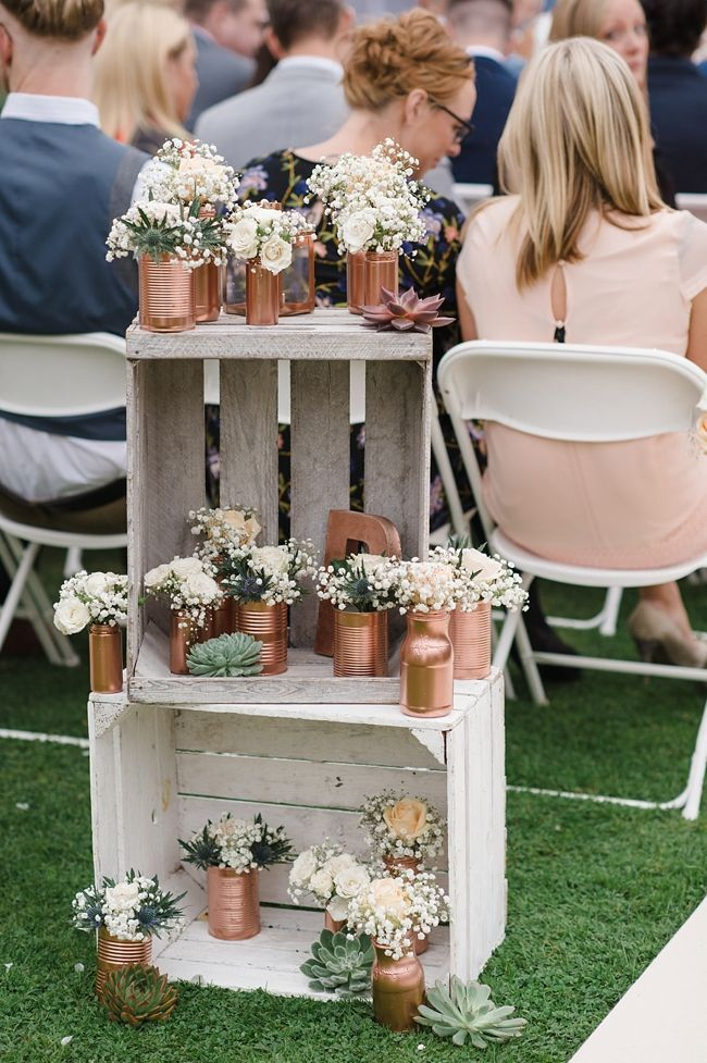 Beautiful September wedding ideas with handcrafted touches
