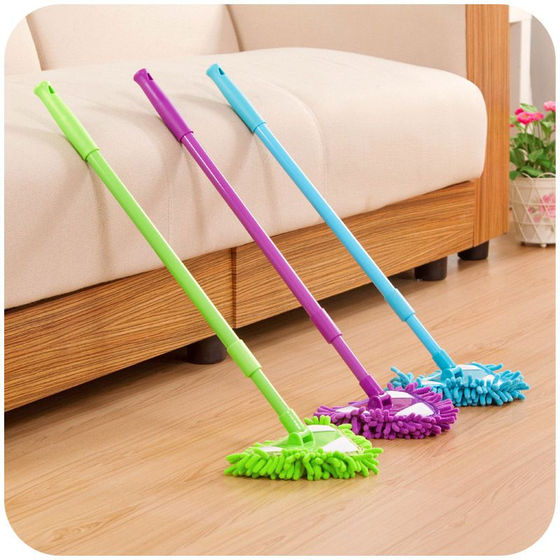 Click to Buy << Multifunctional Mop Scalable Dust Floor Cleaning Mop ...