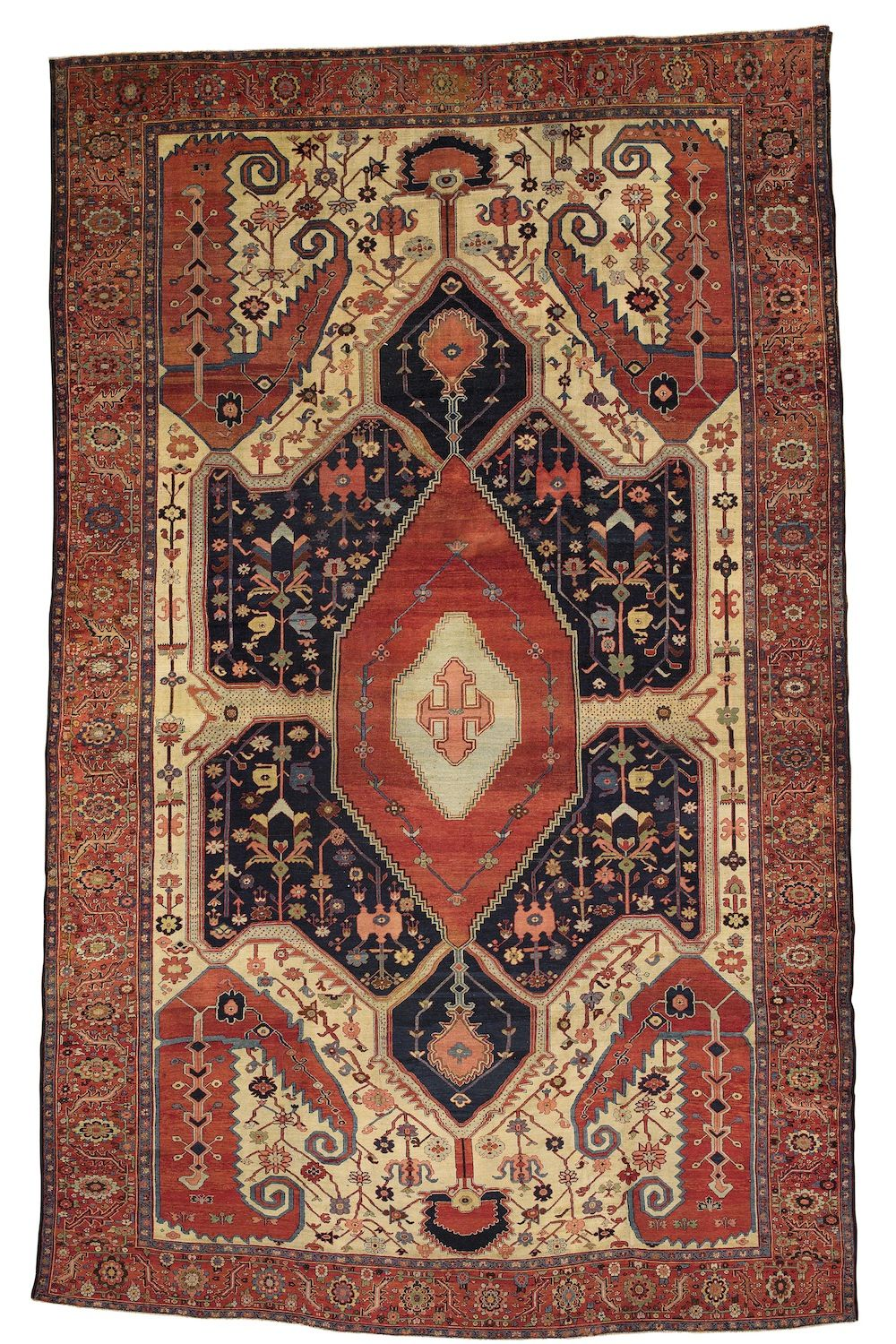 Persian Bakhshaish rug, 19th C (3rd Q)