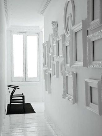 Cornici per arredamento moderno » 11/17 White picture