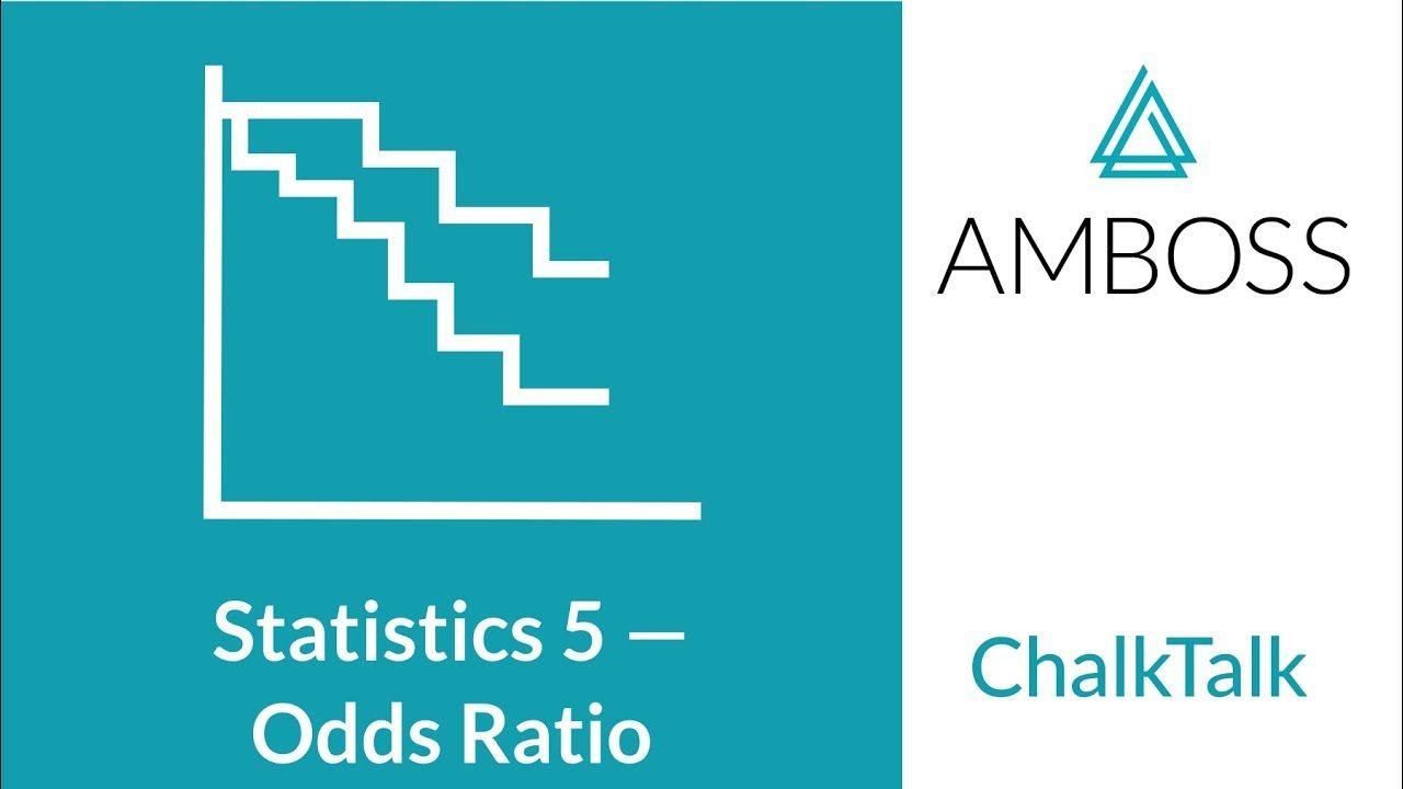 Medical Statistics Part 5 Calculating The Odds Ratio Statistics Medical Knowledge Medical