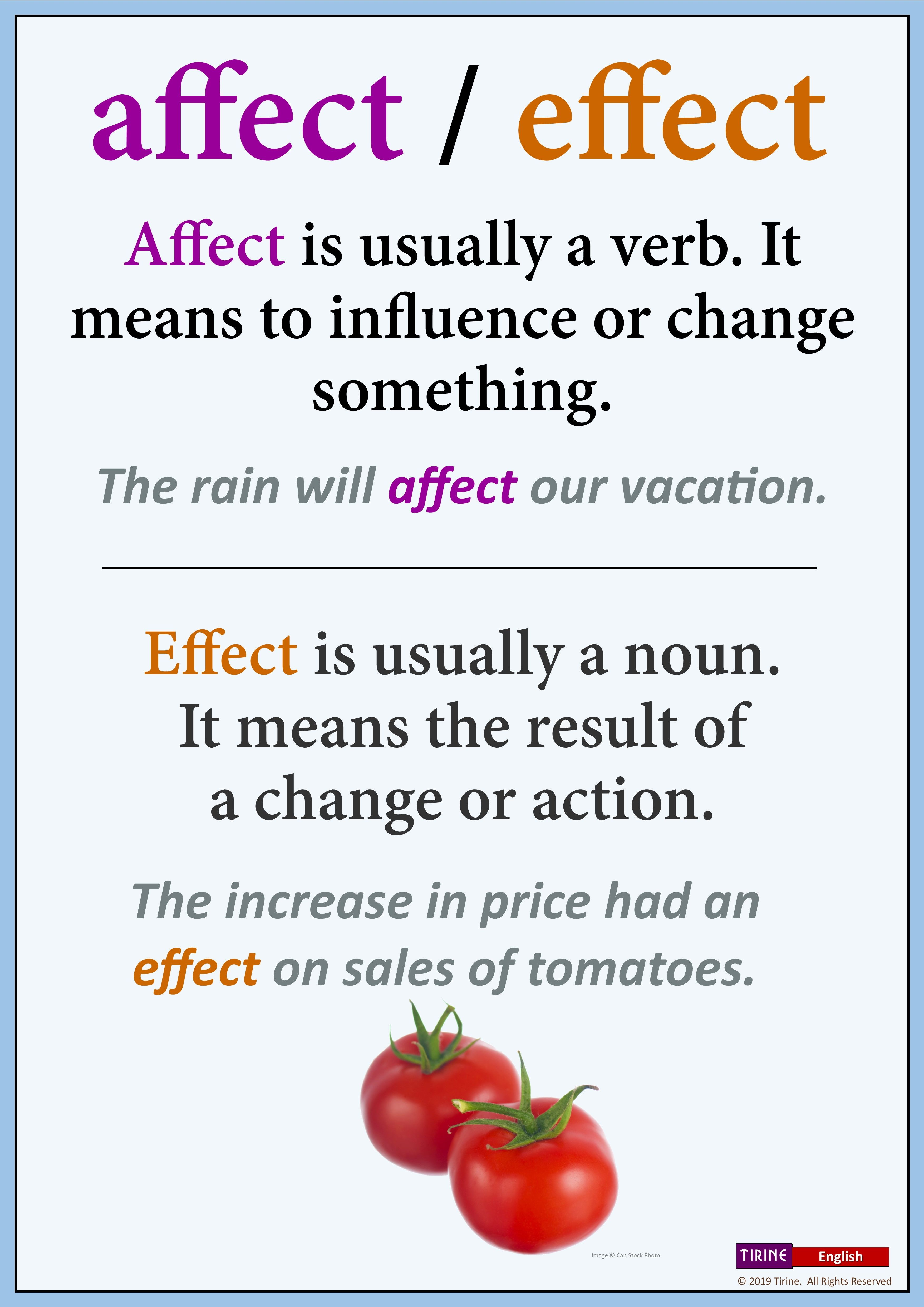 Commonly Confused Words In English In