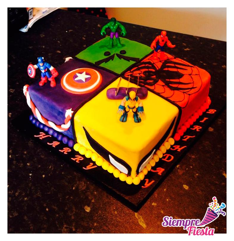 Ideas para fiesta de cumplea os de los avengers encuentra - Todo para tu fiesta infantil ...