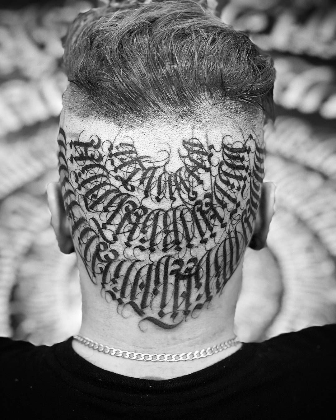 Lettering tattoo mayonaize in 2020 tattoo lettering