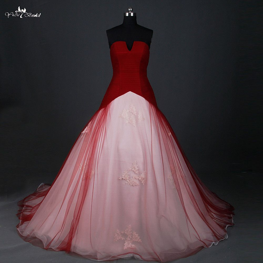 white wedding dresses with red wedding dresses for cheap check