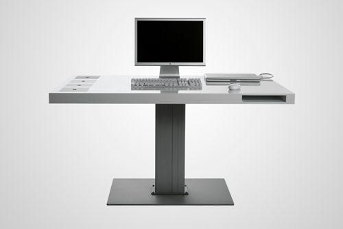 Milk Table Mac 1 Minimalist Desk Minimalist Computer Desk