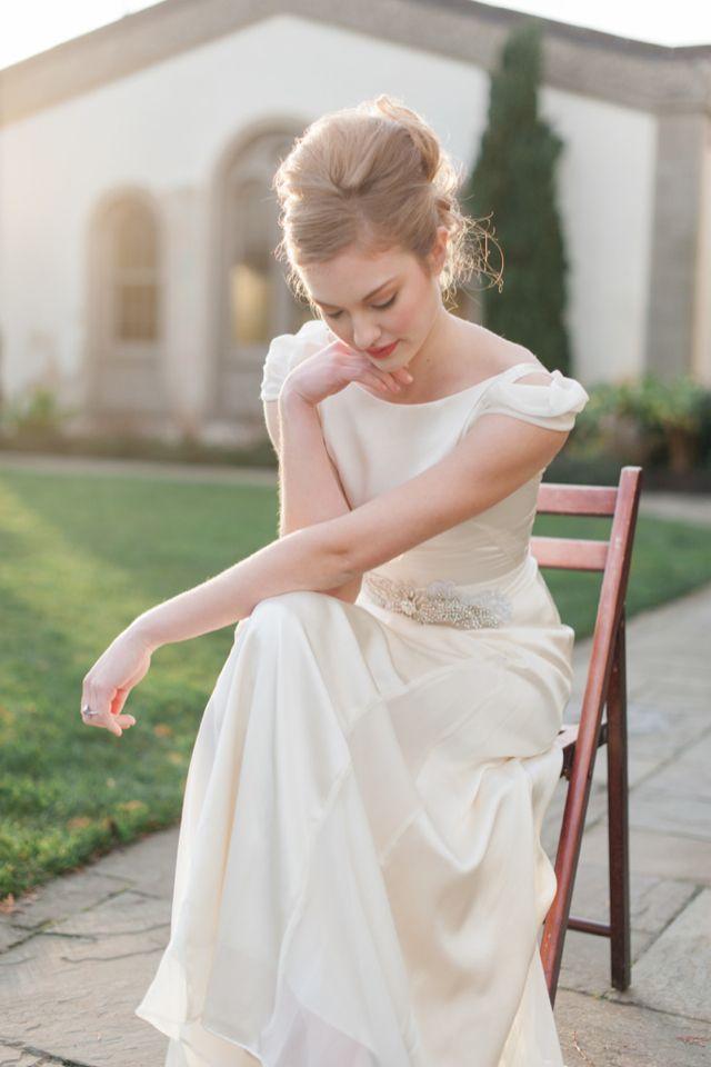 Gorgeous bridal portrait | Blue Rose Photography | see more on http://burnettsboards.com/2014/02/spanish-style-bridal-inspiration/