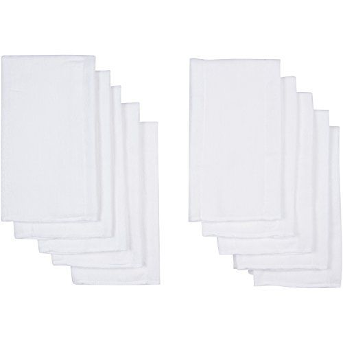 Gerber Birdseye 3-Ply Prefold Cloth Diapers, White, Pack ...