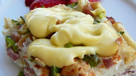Quick and Easy Hollandaise Sauce in the Microwave Recipe #hollandaisesauce