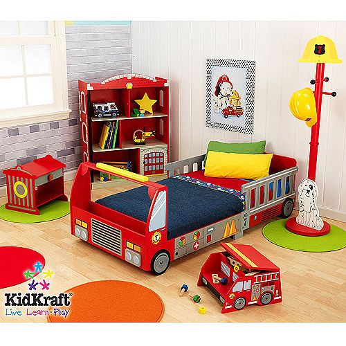 Fire Truck Bedroom Set