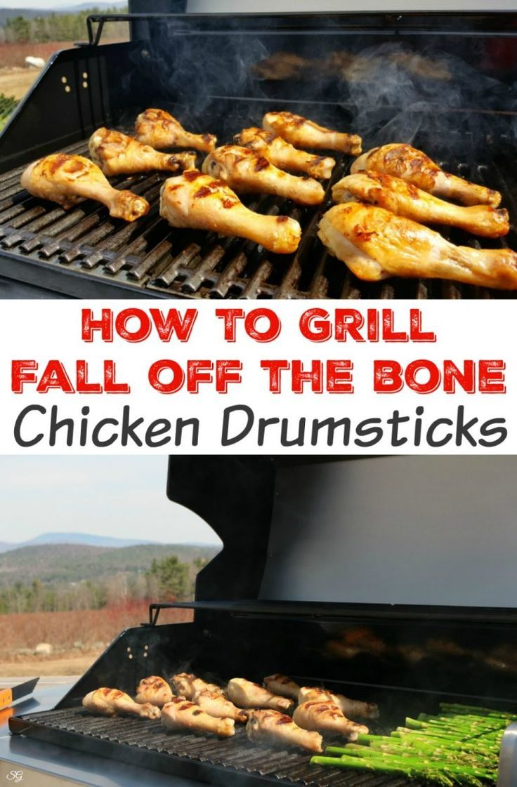 How To Grill Chicken Drumsticks. Cooking the perfect, fall