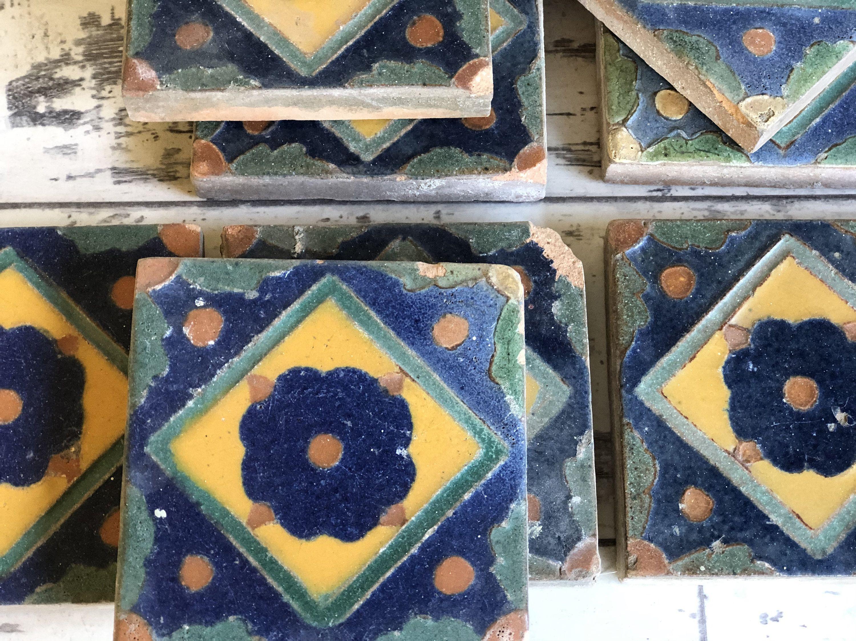 Antique Solon Schemmel Tile San Jose