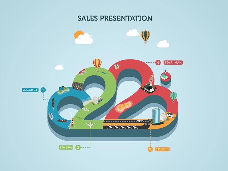 Illustration For Sales Presentation  Sales Presentation Logos