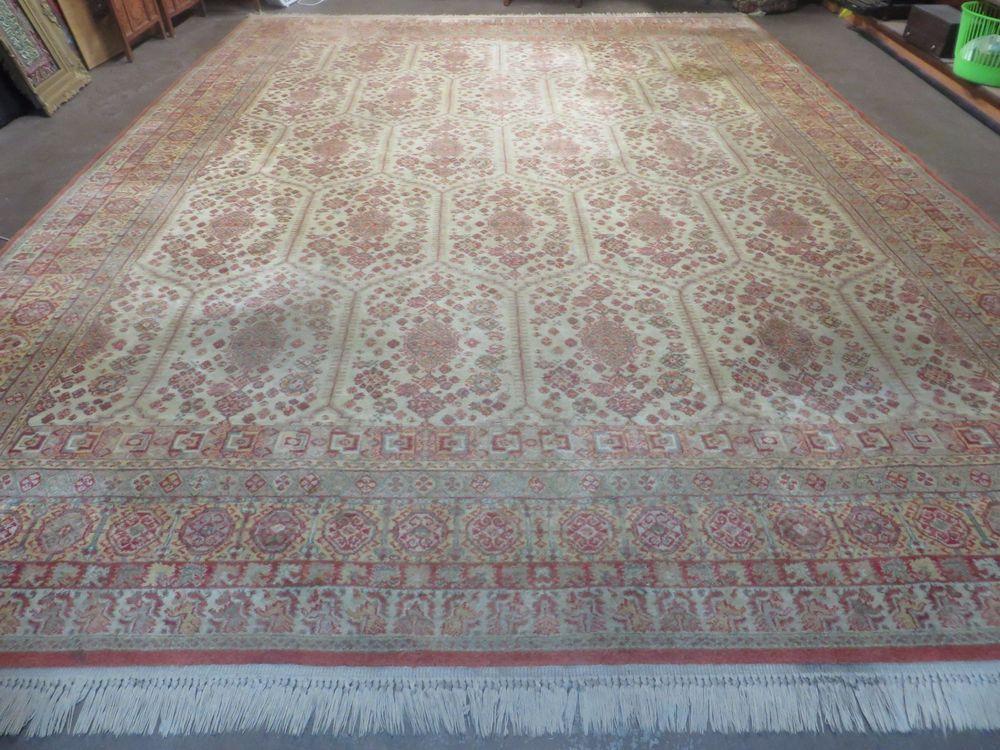 10 X 14 Karastan Agra Rug 700 Pattern 725 Wool American Made