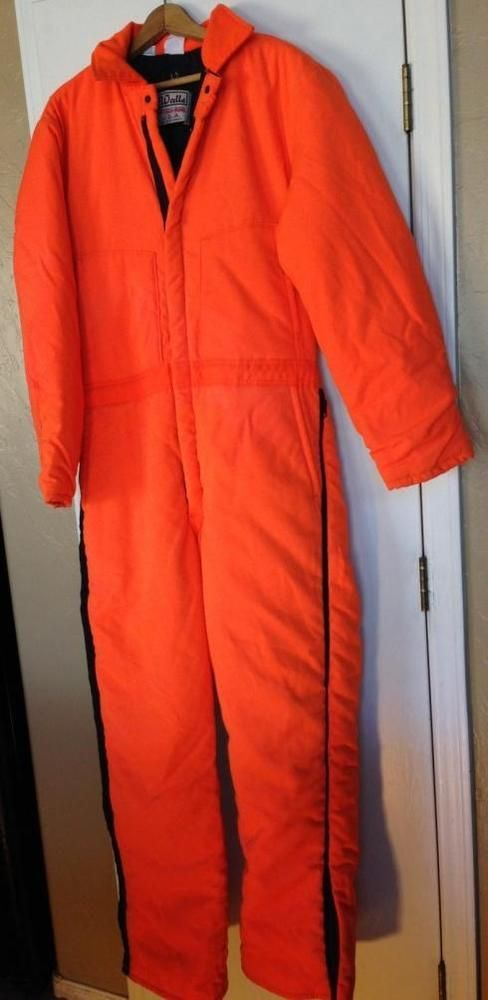 walls blizzard pruf coveralls jumpsuit orange large tall on walls coveralls id=16688