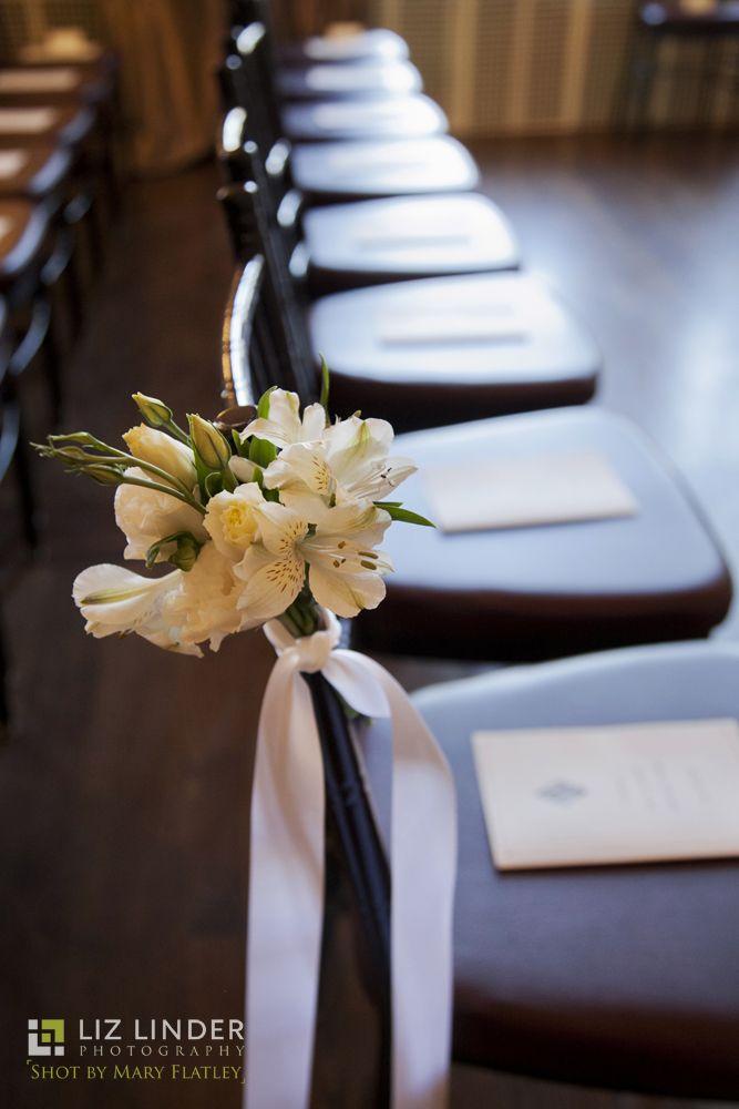 The Ceremony is Set! - Liz Linder Photography - #aldencastle #modernvintage #weddings #ceremony